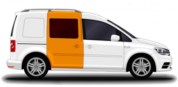 OS Crew Cab (Window) Door