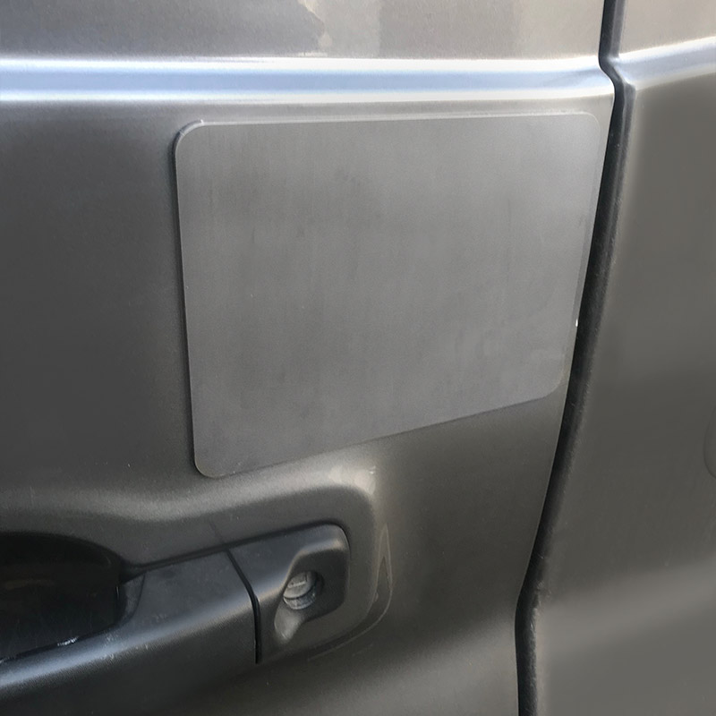 Rear Door Latch Guard - Vanlocks co uk