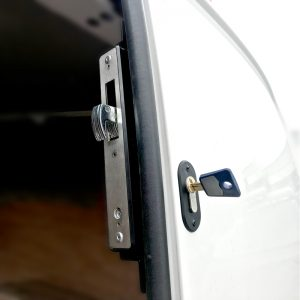 Garrison Hook-Bolt Deadlock - Rear Door